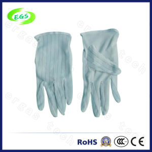 Industrial Polyester ESD Antistatic Skidproof Gloves (EGS-07) pictures & photos