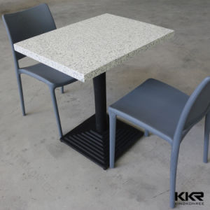 White Solid Surface Restaurant Dining Table (61210) pictures & photos