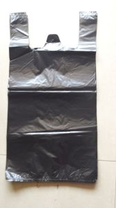 Jamaica South Amercia 18′′x22′′ HDPE Black T-Shirt Bag