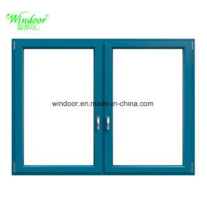 Mat Finish Thermal Break Aluminum Alloy Window Metal Window Iron Window  Design