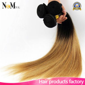 Ombre Indian Virgin Hair Straight Online Natural Color Natural Human Hair pictures & photos