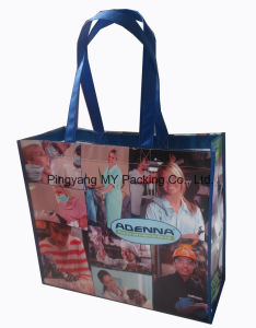 Heavy Packing Recycle OPP Laminated Fabric Promotion Bag pictures & photos