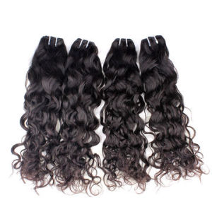Hot Sale Brazilian Virgin Hair Extension Natural Wave pictures & photos