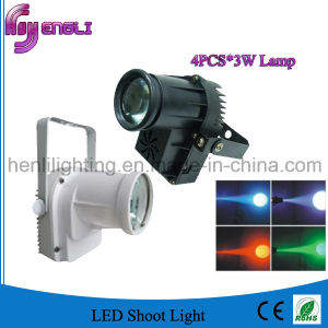 4PCS*3W LED DMX Shoot The Light for Stage Performance (HL-059)