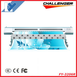 3.2m Infiniti/Challenger Flex Banner Printing Machine Fy-320 (with 6PCS Spt 510/35pl) pictures & photos