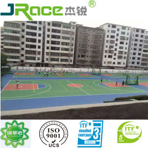Seamless UV Resistance Outdoor Basketball Court Surface pictures & photos