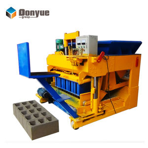 Qtm6-25 Movable Concrete Wall Block Machine pictures & photos
