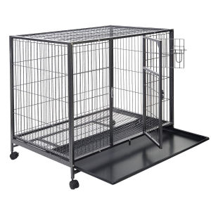 Heavy Duty Metal Square Tube Large Dog Crates pictures & photos