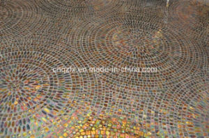 Hot Melt Glass Mosaic Patterns for Floor