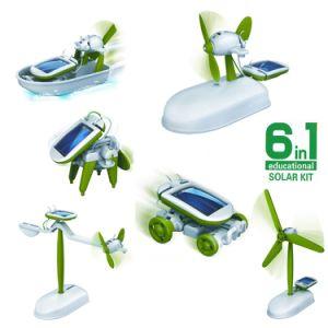 f5e3d78f3ce China Solar Assembly Robot 6 in 1 Solar DIY Educational Toys - China ...
