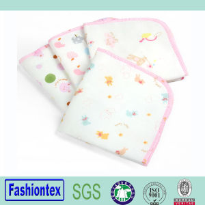 Wholesales Makeup Remover Towel Organic Cotton Muslin Baby Handkerchief pictures & photos