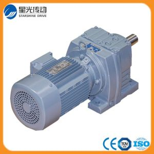 R Series Helical Inline AC Electric Motor Gearbox pictures & photos