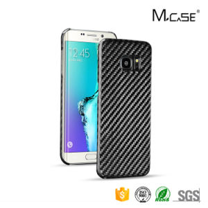 Carbon Fiber Mobile Phone Cover for Samsung Galaxy S7 Edge