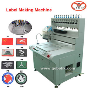 Soft PVC Labeling Automatic Dripping Machine pictures & photos