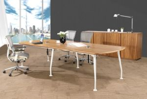 Modern Office Meeting Table Wooden Conference In Boardroom