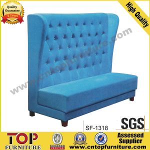 Classy Modern 2 Seats Restaurant Sofa (SF-1318) pictures & photos