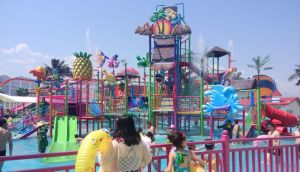 Big Fiberglass Water House, Water Park Equipment pictures & photos