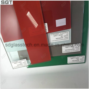 Toughened Lacquered Glass 6mm Red Color pictures & photos