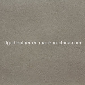 Good Seam Strength Sofa PVC Leather Qdl-50274 pictures & photos