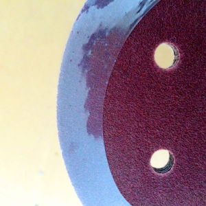 Wood Grinding Aluminum Oxide Magic Tape Disc pictures & photos
