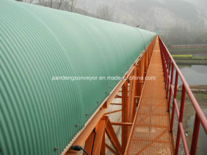 Rain Cover Belt Conveyor System for Cement Plant