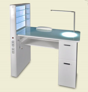 China Wholesale Luxury Manicure Table Nail for Salon Furniture ...