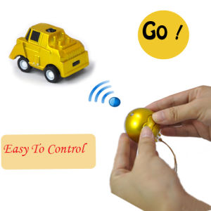 Children Jump Christmas Ball Shape 1/56th Scale Mini Remote Control Toy Car