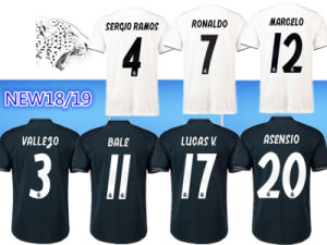 the best attitude f19f4 7d8f7 Top Quality 18 19 Real Madrid Soccer Jersey Ronaldo Asensio Sergio Modric  Ramos Marcelo Bale Isco Camiseta 2018 Real Madrid Football Shirts