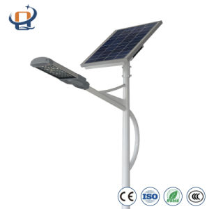 Dependable Performance Solar Lamp LED Outdoor with Galvanized Q235 Pole