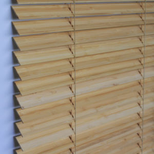 50mm Bamboo Venetian Blinds With Manual Cord Control