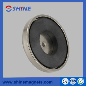 Plating Nickel Ceramic Round Base Magnet pictures & photos