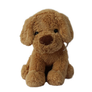 Hotsale Cute Plush Stuffed Toy Sitting Dog for Promotion