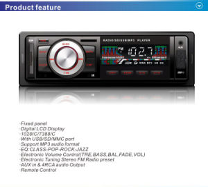 Driver Car MP3 Player with USB SD MMC TF pictures & photos