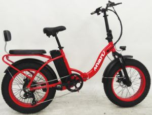 Folding Electric Fat Tire Bike 20inch pictures & photos