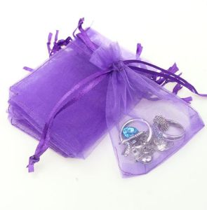 Organza Gift Bags Wedding Party Favor Drawstring Jewelry Candy Pouches Baby