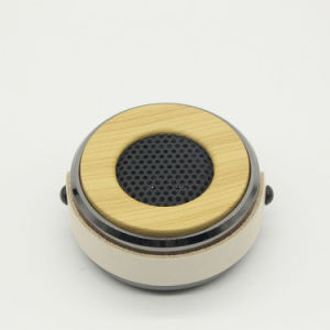 Bt Mini Speaker with Wooden pictures & photos
