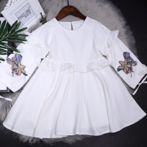 Girls′ New Dresses High Quality Are on Sale in 2018