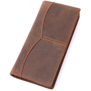 8059r-1 Online Shop China Magic Wallet Leather Wallet in Stock Hunter Leather Wallet Handmade Leather Men′s Short Wallet Crazy Horse Wallet Handmade Genuine