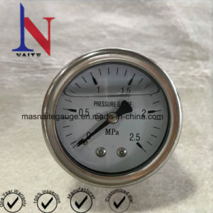 Competitive Price Bourdon Tube Stainless Steel Hydraulic Pressure Gauge