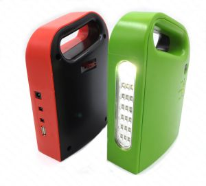 Portable Rechargeable LED Emergency Lantern with Power Bank