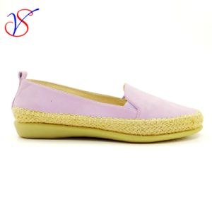 Six Color Soft Comfortable Flax Lady Women Shoes Sv-FT 011A