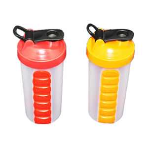 Patent 700ml Protein Shaker Bottle pictures & photos