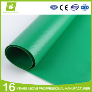 Polyester Waterproof Flame Retardant Coated Fabric PVC Tarpaulin Roof Truck Cover Material