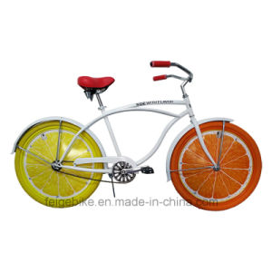 2015 Attractive Advertisement Bike Wheel Card Beach Bicycle (FP-BCB-C040) pictures & photos