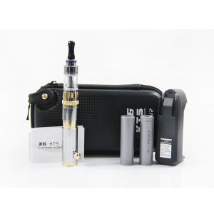 E Cigar with Mechanical Telescopic Mod Kts, Electronic Cigarette with Gold-Silver Color