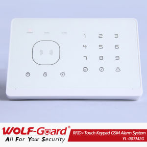 Multi-Languages Voice New RFID+ Touch Keypad GSM Home Alarm Security System with APP Control pictures & photos