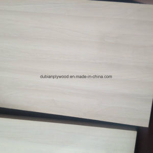 18mm Melamine Laminated Plywood for Wardrobe Cabinet Table pictures & photos