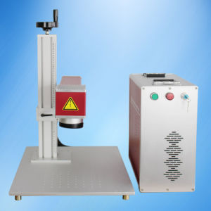 10W Table Fiber Laser Marking Machine with Laptop Kt-Lft10 pictures & photos