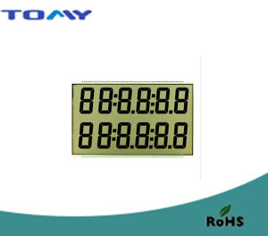 Tn Transflective LCD Display for Gas Dispenser
