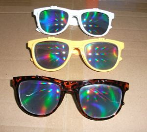 Plastic Flip up Fireworks Glasses (pH0028FW)